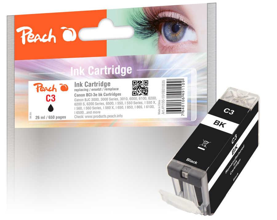 Canon BCI-3e bk inkoustová náplň černá