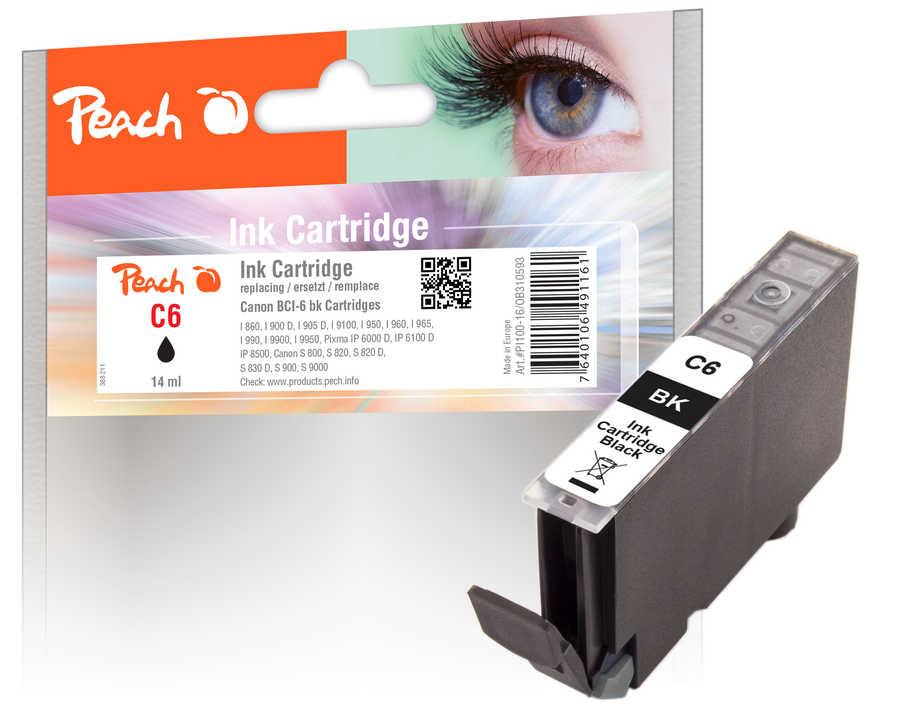 Canon BCI-6 bk inkoustová náplň černá