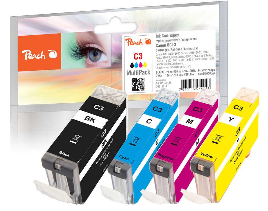 Canon BCI-3e-series Combi Pack čtyřbarevný