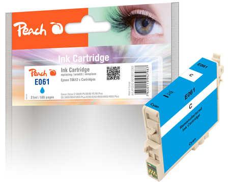 Epson T0612 inkoustová náplň azur