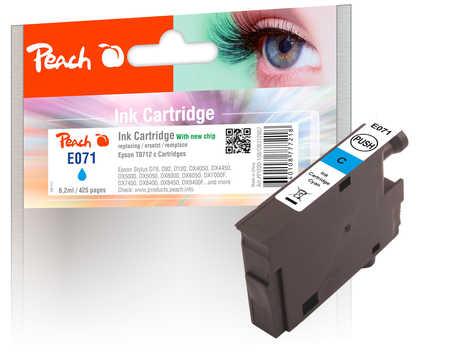 Epson T0712 inkoustová náplň azur