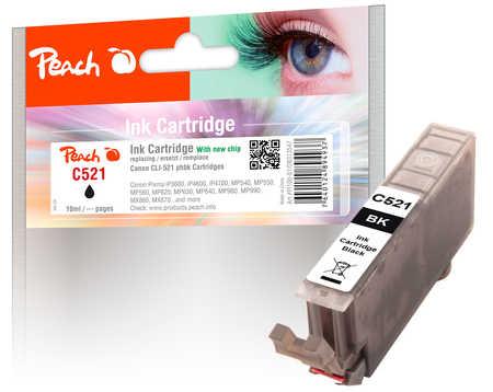 Canon CLI-521bk, 2933B001 inkoustová náplň černá