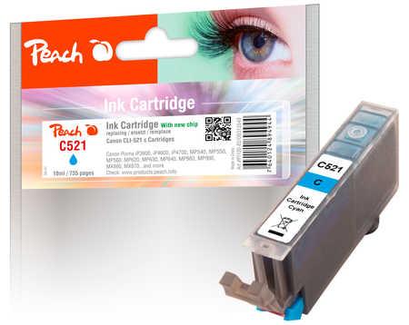 Canon CLI-521c, 2934B001 inkoustová náplň azur