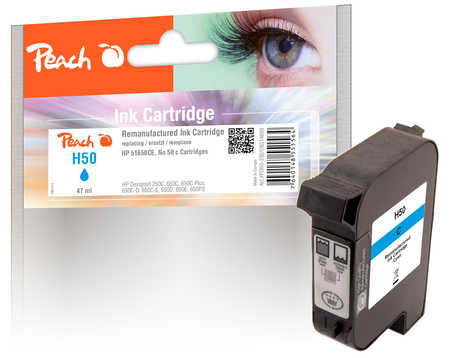 HP 51650CE, no.50 tisková hlava azur