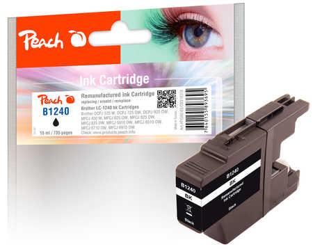 Brother LC-1240 bk inkoustová náplň černá