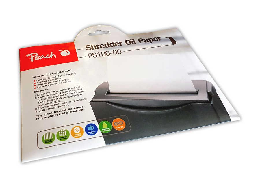 Servisní souprava pro skartovačku (olejový papír)