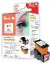 314129 - 1 Peach Print-head, 1 Snap-in Ink Cartridge colour, compatible with CL-41 Canon