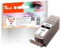 Peach Ink Cartridge black, compatible with  Canon PGI-525